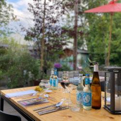 Voll im Trend: Fünf-Gänge-Menü im grünen Pop-up-Restaurant
