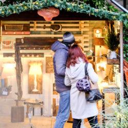Adventsstimmung auf dem Weihnachtsmarkt im HERBRAND's